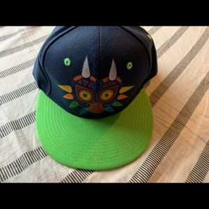 Major as mask painted hat